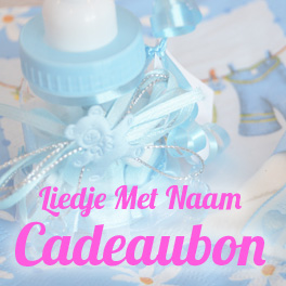 Liedje Met Naam Cadeaubon