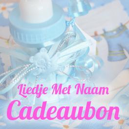 Liedje Met Naam Cadeaubon