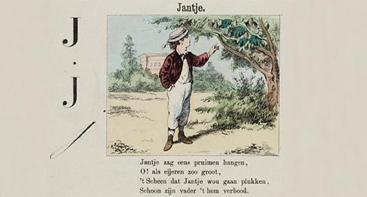Jantje, uit het ABC boekje van Hieronymus van Alphen.