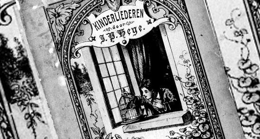 Kinderliederen door Jan Pieter Heije (1843).