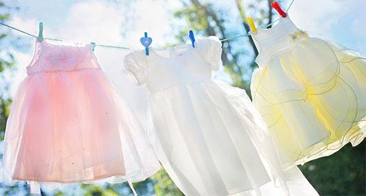 Gefeliciteerd, je kleren zijn dit jaar weer gewassen!
