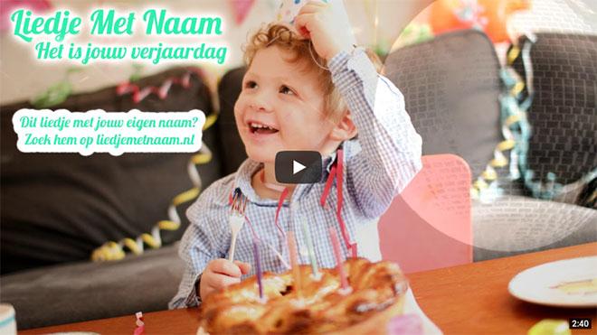 Het is jouw verjaardag - video link